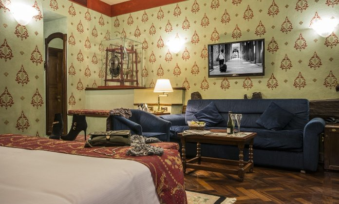 JUNIOR SUITE DELUXE Art Hotel Commercianti Bologna